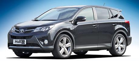 H Amp R Springs New For The Toyota Rav4 4wd 2 2l Diesel